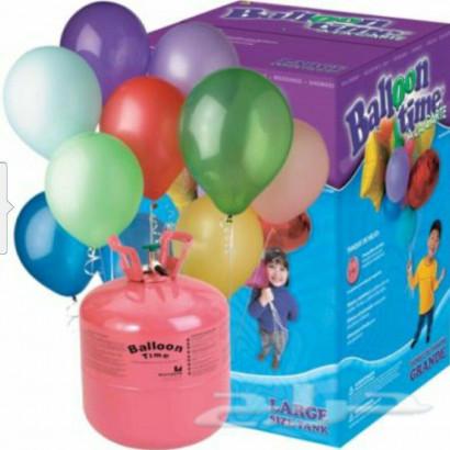 Bouteille hélium jetable 430 l