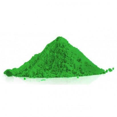 Holi poudre coloré verte