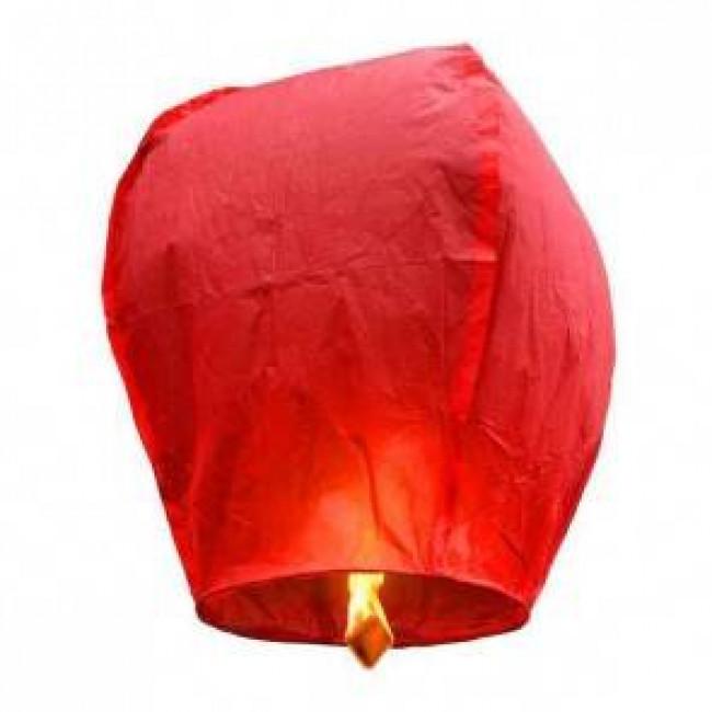 lanterne volante rouge eco lanternes volantes c lestes. Black Bedroom Furniture Sets. Home Design Ideas