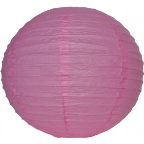 Lampion / boule papier 30cm rose
