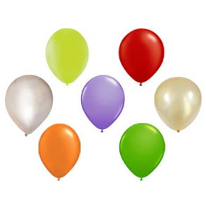 100pcs Ballons en latex Mix des couleurs