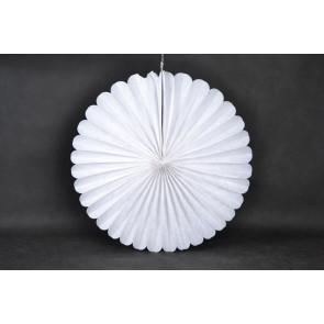 Rosace papier 40cm blanc