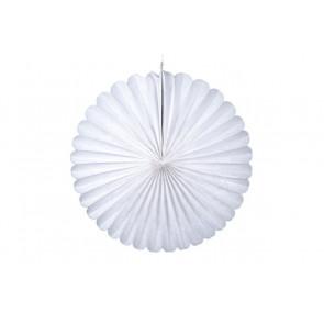 Rosace papier blanc 20 cm