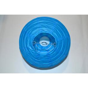 Lampion / boule papier 20cm bleu