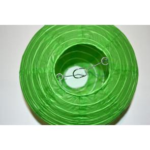 Lampion / boule papier 20cm vert