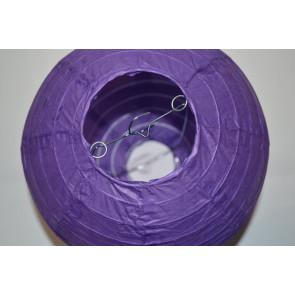 Lampion / boule papier 20cm violet