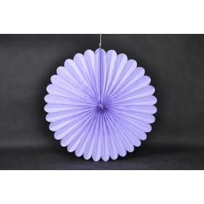 Rosace papier 40cm violet