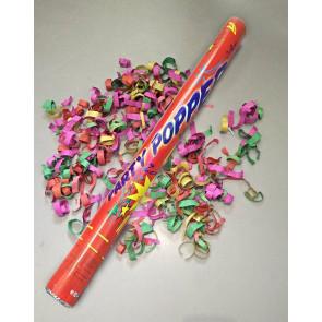 Canon à confettis mélange des couleurs 40cm