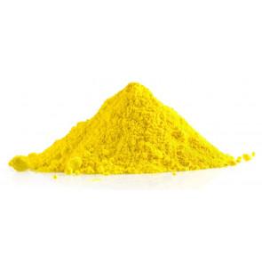 Holi poudre coloré jaune