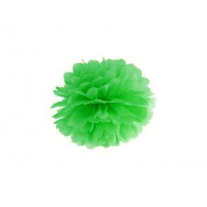 Pompon papier de soie 35cm,  vert clair