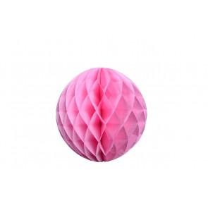 Boule papier alvéolé / honeycomb rose 30cm