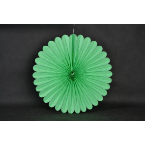 Rosace papier 40cm vert