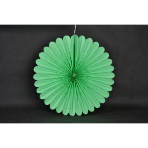 Rosace papier 20cm vert